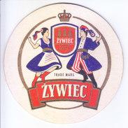 COASTER - PREPARED BY HARD CARD BOARD - ZYWIEC - Unclassified