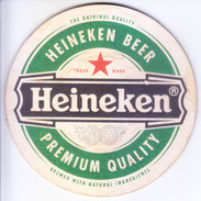 COASTER - PREPARED BY HARD CARD BOARD - HEINEKEN BEER - Unclassified