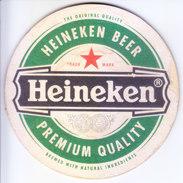 COASTER - PREPARED BY HARD CARD BOARD - HEINEKEN BEER - Non Classés