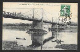 ANCENIS Le Pont Suspendu (Vassellier) Loire Atlantique (44) - Ancenis