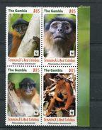 "WWF - Gambia - MiNr. ? - ""Temminck-Stummelaffe* (Jahr 2016) - W.W.F."