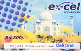 MOBILE / TELEPHONE CARD, INDIA - BSNL, EXCEL, RS. 300 RECHARGE CARD - Magnets