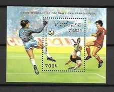 Laos 1991 Football - USA 94 MS MNH (DMS002) - World Cup