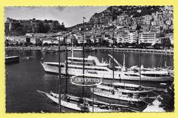 CPSM Monaco Le Port Et La Condamine Yacht Bateaux TBE ( Peu Commune ) - Harbor