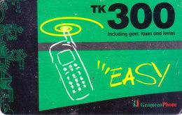 MOBILE / TELEPHONE CARD, BANGLADESH - GRAMEEN PHONE RS. 300 RECHARGE CARD - Non Classés