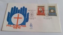 349 -  FDC VATICANO  1976 - FDC