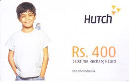 MOBILE / TELEPHONE CARD, INDIA - HUTCH RS. 400 TALKTIME RECHARGE CARD - Non Classés