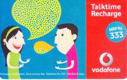 MOBILE / TELEPHONE CARD, INDIA - VODAFONE RS. 333 TALKTIME RECHARGE CARD - Non Classés