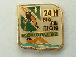 PIN´S 24 H NATATION KOUROU 92 - TOUCAN - Swimming