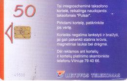 MOBILE / TELEPHONE CARD, LITHUANIA - LIETUVOS TELEEKOMAS, SKAITMENINIU, CHIP BASE MOBILE CARD / SMART CARD - Magnets