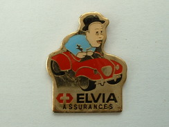 PIN´S ASSURANCES ELVIA - Pin's