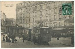 E.V. 183 Paris XIX Et XX Terminus Du Funiculaire De Belleville Place De L' Eglise - Arrondissement: 20