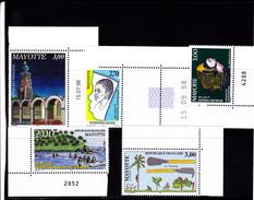 """Mayotte 1998 Timbres N°  Neufs ** 57-58-59-60-61 Neufs **- Voir Verso Et Descriptif"""" - Mayotte (1892-2011)"""
