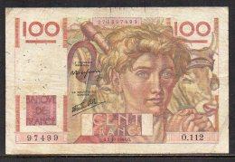 527-France Billet De 100 Francs 1946 Q O112 - 1871-1952 Circulated During XXth