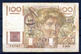 456-France Billet De 100 Francs 1951 B S408 - 1871-1952 Anciens Francs Circulés Au XXème