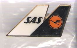 Kooperations-Pins LUFTHANSA - SAS Scandinavian Airlines - Luftfahrt