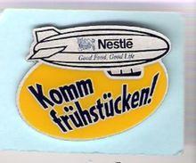 Pin NESTLE - Komm Frühstücken! - Mit Zeppelin - Lebensmittel