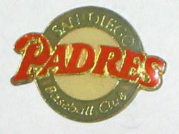 "Pin's SAN DIEGO BASE BALL CLUB """" PADRES """" - Baseball"