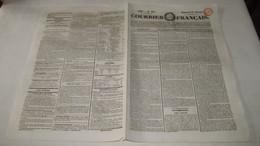 GRECE - L'EXPEDITION DE MOREE - COURRIER FRANCAIS De JUILLET 1828. - 1800 - 1849