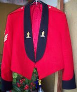British Corps Of Royal Engineers Mess Dress Tunic (with Patches) - Uniforms