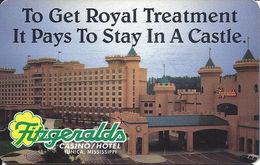 Fitzgeralds Casino Hotel - Tunica, MS - Hotel Room Key Card - Cartes D'hotel