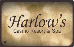 Harlow's Casino Resort - Greenville, MS - Hotel Room Key Card - P670284 On Back - Hotel Keycards