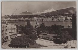 Geneve - Place Des Alpes, Pension Peugeaut - Photo: Jullien Freres - GE Genève