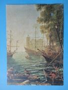 L'Imbarco Di Sant'Orsola - Claude Lorrain - Particolare - Londra National Gallery - Paintings