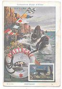 Illustrateur Hugo D'Alési - Affiche BRETAGNE - BELLE ILE EN MER - N° 12 - Voir état - D'Alési, Hugo