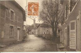 Saint Just Chaleyssin Le Haut Du Village - Autres Communes