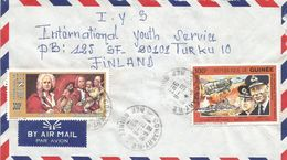 Guinee Guinea 1993 Conakry Composer Vivaldi Bismark WWII Cover - Guinee (1958-...)