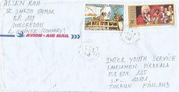 Guinee Guinea 1994 Conakry Composer Vivaldi Colombus Colon Discoverer Cover - Guinee (1958-...)