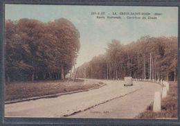 Carte Postale 60. La Croix-Saint-Ouen Carrefour Du Coude  Route Nationale   Trés Beau Plan - France