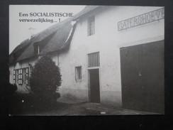 CP BELGIQUE BELGIE (V1709) MERKSEM MERXEM (2 Vues) Een SOCIALISTISCHE Verwezelijking Merksemse Socialistische Kandidaten - Merksplas