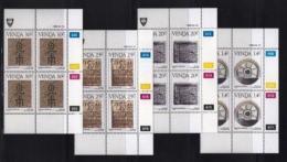 VENDA, 1986, Mint Never Hinged Stamps In Control Blocks, MI 138-141, History Of Writing, X330 - Venda