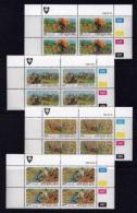 VENDA, 1986, Mint Never Hinged Stamps In Control Blocks, MI 142-145, Forestry, X331 - Venda