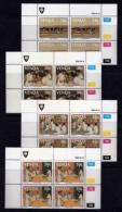 VENDA, 1988, Mint Never Hinged Stamps In Control Blocks, MI 175-178, Nurses Training College, X340 - Venda