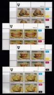 VENDA, 1989, Mint Never Hinged Stamps In Control Blocks, MI 183-186, Traditional Kitchenware, X342 - Venda
