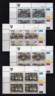 VENDA, 1989, Mint Never Hinged Stamps In Control Blocks, MI 187-190, Traditional Dances, X343 - Venda