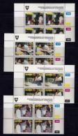 VENDA, 1992, Mint Never Hinged Stamps In Control Blocks, MI  233-236,  Clothing Factory, X356 - Venda