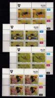 VENDA, 1992, Mint Never Hinged Stamps In Control Blocks, MI  237-240,  Bees,  X357 - Venda