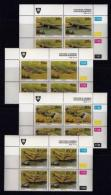 VENDA, 1992, Mint Never Hinged Stamps In Control Blocks, MI  246-249, Crocodil Farm,  X359 - Venda