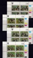 VENDA, 1994, Mint Never Hinged Stamps In Control Blocks, MI  270-273, Monkeys,  X365 - Venda
