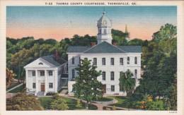 Georgia Thomasville Thomas County Court House