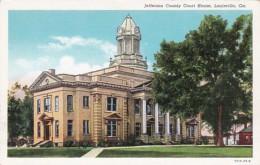 Georgia Luisville Jefferson County Court House Curteich