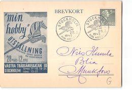 10931 SVERIGE SVEDE SWEDEN STOCKHOLM - 1942 - Storia Postale