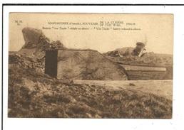 """Oostende Mariakerke Souvenir Of The War 1914-18 """"von Tirpitz"""" Battery Reduces To Silence  Canon Kanon - Oostende"""