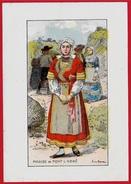 Illustration Par A. De BROCA - Mariée De PONT-L'ABBE * 29 Finistère - Vieux Papiers
