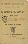 """CABARET MONTMARTRE PARIS PARTITION LA VICTOIRE DE """"LA MADELON"""" CHARLES CLUNY BOITE À FURSY CHAT NOIR MILITARIA - Musique & Instruments"""
