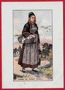 En L'état Illustration Par A. De BROCA - FEMME De PLOUAY Morbihan * 56 - Zonder Classificatie